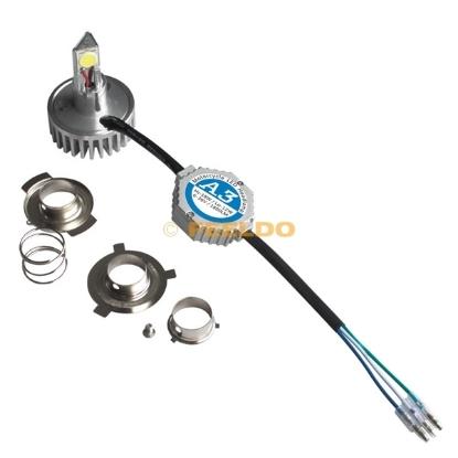 Picture of H6M/H4/P15D25-3/S2(BA20D) 4in1 1800LM LED 18W Motorcycle 6000K Hi/Lo Bulb Light Headlight KITS