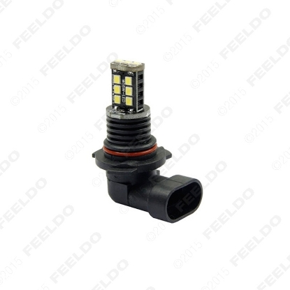 Picture of 1pcs White Car/Truck 9006 15SMD 2835-Chip Led Fog Light Headlight Lamp Bulbs