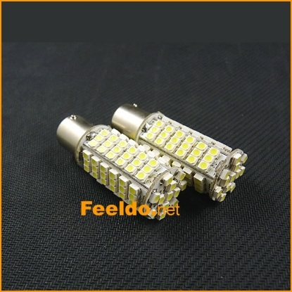 Picture of 1pcs Pure White Car 1156 BA15S 102SMD 3528 Chip Light LED Lamp Turn Signal Lights