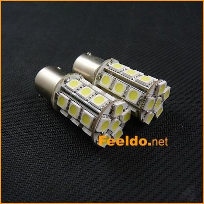 Picture of 1pcs White 1157 BAY15D 24SMD 5050 LED Light Car Brake Signal Light Bulbs