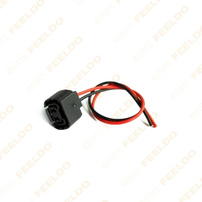 Picture of Car 5202 H16 2504 PS24W 5201 Bulbs Female Connector For Fog Lights Wiring Pigtail Harness