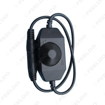 Picture of Car LED Brightness Adjust Switch Dimmer Controller Single Color LED Strip Light DC12V-24V
