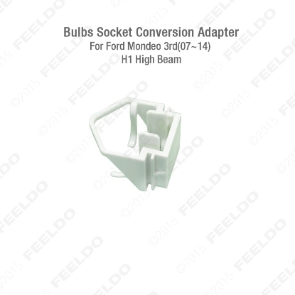 Picture of 10 pcs/Car Bulbs Socket Conversion Adapter For Ford Mondeo 3rd(07~14) H1 High Beam HID Bulb Adapter Holder
