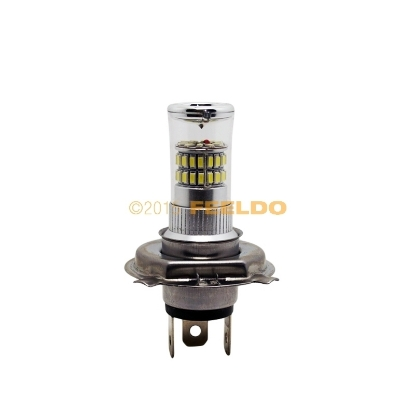 Picture of 12V DC Car Superb Bright White H4/9003/HB2 48SMD 3014 Fog LED Lights Bulb Lamp