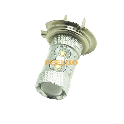 Picture of H7 50W Ultra Bright White 10pcs CREE R3 Car LED Light Lamp