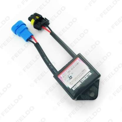 Picture of Car Xenon HID Kit Anti-flicker Error Warning Canceller H1 H3 H4 H7 Capacitors Computer Decoder for C6 VW