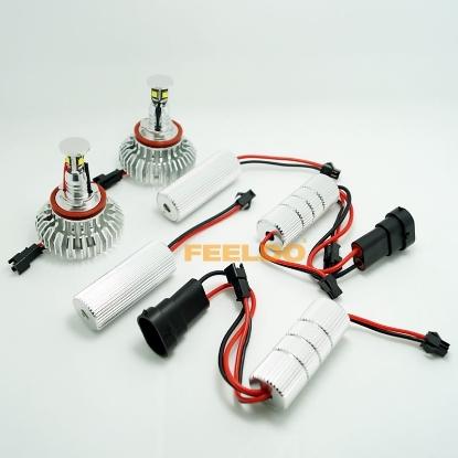 Picture of H8 32W  LED Angel Eyes HALO RING Light Bulbs For BMW E92/E60/E70/E89/X5/E71/X6 With OEM Xenon Headlights