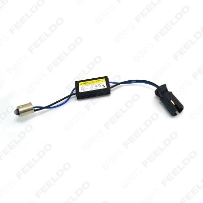 Picture of DC12V BA9s LED Light Warning Canceller Decoder Load Resistor NO-OBD Error NO Hyper Flash