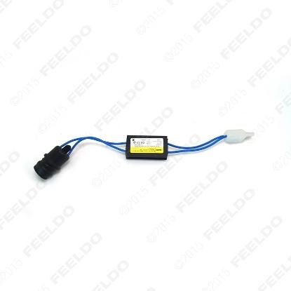 Picture of DC12V T10/W5W/194 LED Light Warning Canceller Decoder Load Resistor NO-OBD Error NO Hyper Flash
