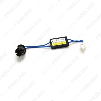 Picture of DC12V LED Light Warning Canceller Decoder Load Resistor NO-OBD Error NO Hyper Flash For T10/W5W/194