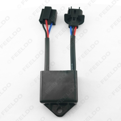 Picture of Car Xenon HID Kit Anti-flicker Error Warning Canceller H4 To H13 Socket Error Free Canceller