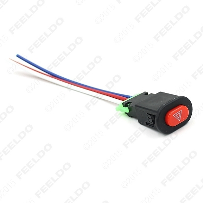 Picture of 1pcs Motorcycle Double Flash Turn Hazard Light Switch