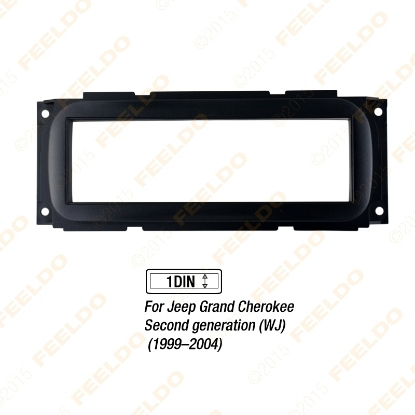 Picture of 1DIN Car Refitting Stereo DVD Frame Fascia Dash Panel Installation Kits For Jeep Grand Cherokee(1999–2004)(WJ)