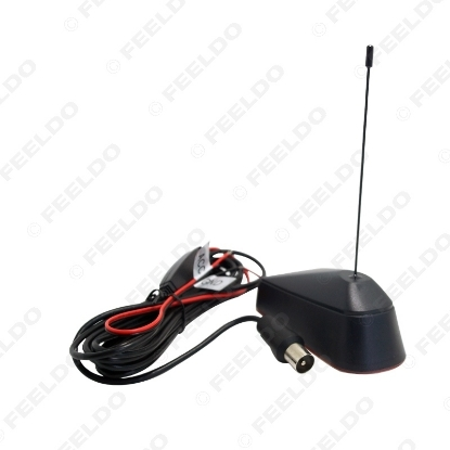 Picture of Car IEC Connector Active TV Antenna Aerial With Built-in Amplifier