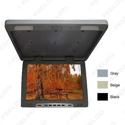 """Picture of 19"""" Roof Mounted LCD Bus Monitor Car Bus Flip Down TFT LCD Monitor with IR Transmitter 3-Color"""