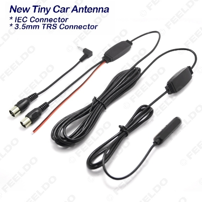 Picture of Tiny Car Window IEC Active Digital TV antenna With Built-in Amplifier