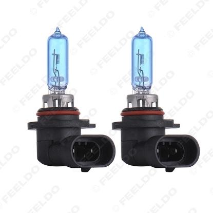 Picture of 1PC White 9005 HB3 12V 100W Car Fog Lights Halogen Bulb Headlights Lamp Car Light Source Parking 5000K