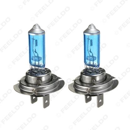 Picture of 1PC H7 100W 12V Super White Fog Lights Halogen Bulb Car Headlights Lamp Car Light Source Parking 5000K