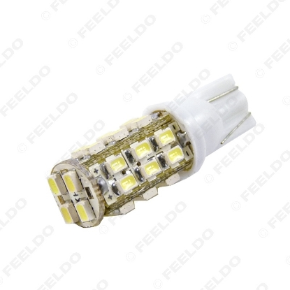 Picture of 1pcs Super White T10 W5W 1210/3528 28LED 28SMD  Wedge Car LED Light Bulbs Door Lighting