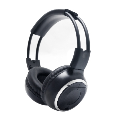 Picture of Car DVD Stereo 2 Dual Channel Audio IR Infrared Wireless Music Foldable Earphone Headphone
