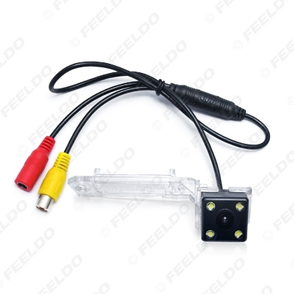 Picture of Car Parking Rear View Camera With LED Light For Volkswagen Touran(03~10)/Caddy(03~10)/Jetta(Sagitar)05~10/Golf Plus(04~08)/Passat B6/T5 Transporter
