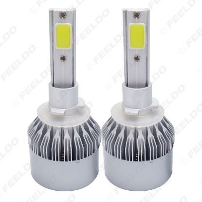 Picture of All In One Car LED Headlight 880/881 2-COB 6500K 72W 7600LM Auto LED Bulb Foglight Headlamp