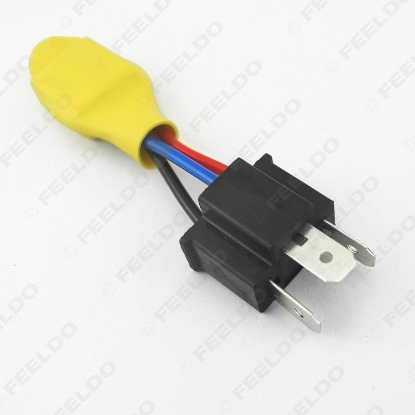 Picture of Car H4 HID Error Free Warning Canceller Anti-power Leakage Module Load Resistor NO Flickering
