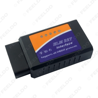 Picture of Auto WIFI Scanner Wireless OBD2 OBDII Adapter Bluetooth ELM327 Interface Car Diagnostic Scanner