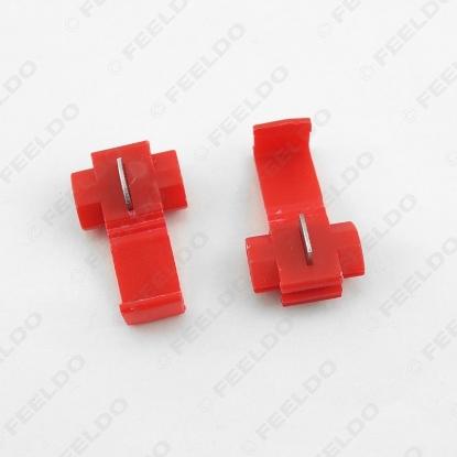 Picture of 1pcs Red Scotch Lock Wire Connectors Quick Splice Terminals Crimp Electrical