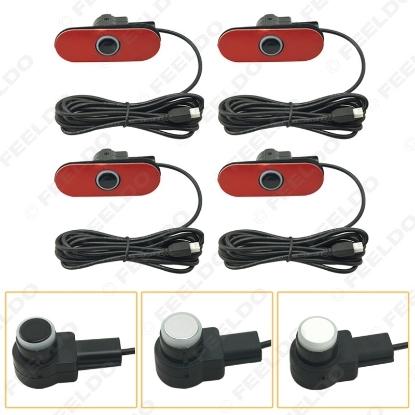 Picture of Car Original Parking Flat 16.5mm  Sensor With 6m Line Car Radar Parktronic Assistance 3-Color