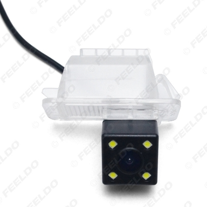 Picture of Waterproof Car Backup Rear View Camera with 4LED For Ford Focus 2014 Reversing Parking Camera