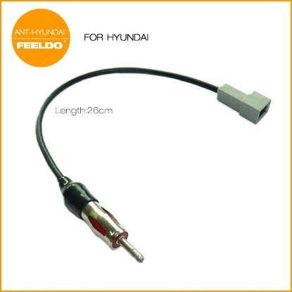 Picture of Car Audio Stereo Antenna Adapter For 2009-2011 Hyundai/Kia KI-11 Female Radio Parts