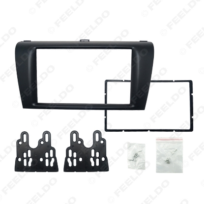 Picture of Car DVD/CD Radio Stereo Fascia Panel Frame Adaptor Fitting Kit For Mazda3