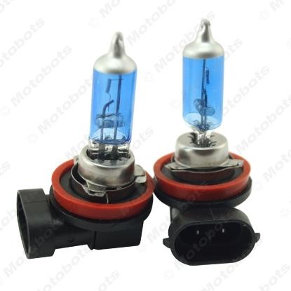 Picture of 1PC White H11 55W/100W Car Fog Lights Halogen Bulb Headlights Lamp Car Light Source Parking