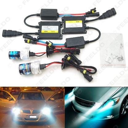 Picture of 1set AC 12V 35W H1/H3/H7/H8/H10/H11/9005/9006 Xenon HID Kit Car Headlight Xenon Bulb Lamp Digital Ballast