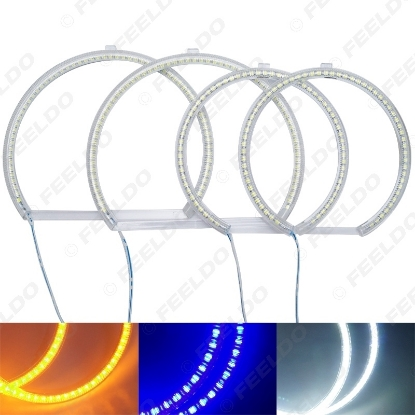 Picture of Auto SMD Angel Eyes Light Halo Rings DRL For BMW E53[X5(99-04) Headlight 3-Color