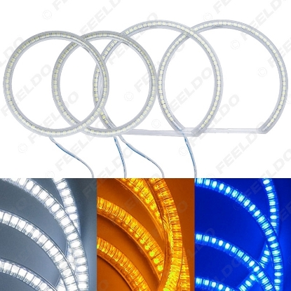 Picture of Auto SMD Angel Eyes Light Halo Rings DRL For BMW E90 Headlight 3-Color