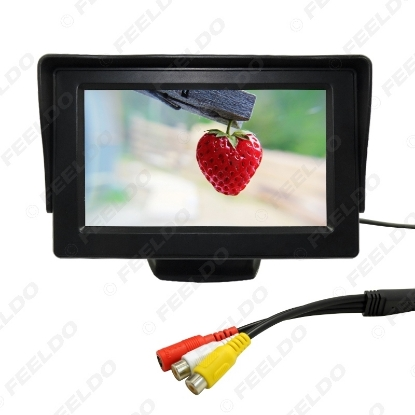 Picture of 4.3inch TFT LCD Digital Monitor For Reversing Backup Camera DVD/VCR