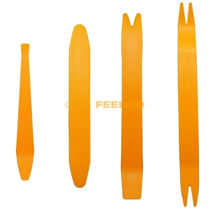 Picture of 1 set Car Anti-scratch Audio Stereo Removal Pry Installation Tool Kit 4pcs Inside