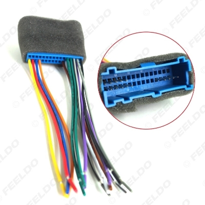 Picture of Car Radio Audio Stereo Amplifier Interface Wire Harness for Buick/Cadillac/Pontiac/Oldsmobile Install Aftermarket CD/DVD Stereo