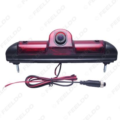 Picture of Car LED Brake Light IR Rear View Reversing/Parking Camera For Fait Ducato/Peugeot Boxer/Citroen Jumper