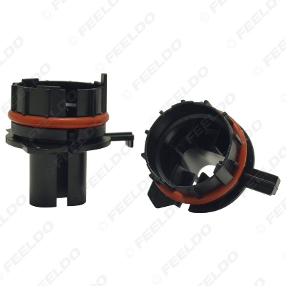 Picture of 1pcs Car Bulbs Socket Conversion Adapter For BMW E39 5-Series(Type1) H7 HID Xenon Bulb Low Beam Installation