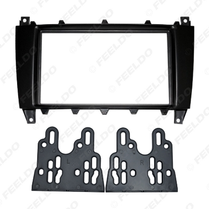 Picture of Car DVD/CD Radio Stereo Fascia Panel Frame Adaptor Fitting Kit For Mercedes-Benz C Class