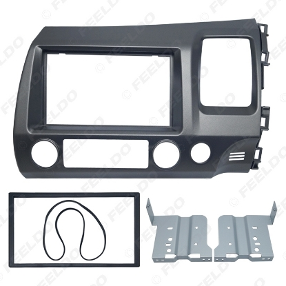 Picture of Car DVD/CD Radio Stereo Fascia Panel Frame Adaptor Fitting Kit For Honda CIVIC(RHD)