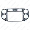 Picture of 2Din Car Radio Fascia Frame for Volkswagen Tiguan 2013-2019 Stereo Panel Dash Mount Trim Installation Kit