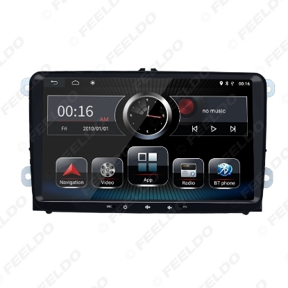 Picture of 9inch Ultra Slim Android 8.1 Quad Core Car Media Player With GPS Navi Radio  For VW Golf 5/6/Polo/Passat/Jetta/Tiguan/Touran