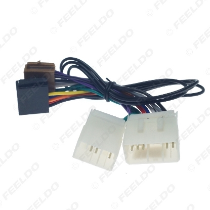 Picture of Car Stereo Conversion Plug Wire Adapter For Mazda to ISO CD Radio Wiring Harness Original Head Units Cable