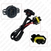 Picture of Auto 12V H11 To 5202/H16 Plug Power Cable HID Conversion Kit Xenon Lamp Bulb Power Wire Harness