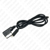 Picture of 1meter Audio AUX And Power Charge Adapter Cable For Benz Media Music Interface Connect To Cell Phone Power Charger