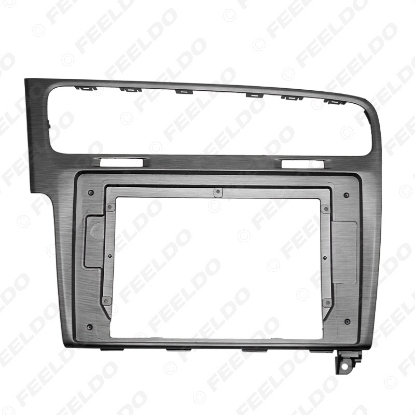 """Picture of Car Stereo Audio Face Fascia Frame 10.1"""" Large Screen Modified Navigation for Volkswagen Golf 7 Panel Kit"""